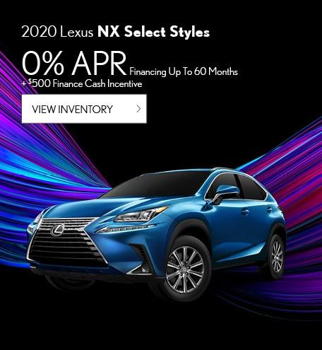 2020 Lexus NX Select Styles