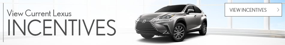 View Current Lexus Incentives