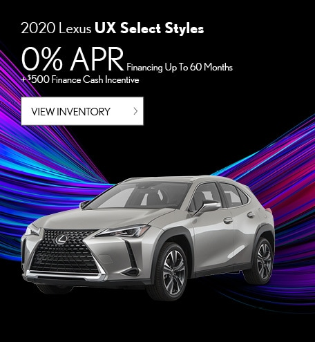 2020 Lexus UX Select Styles