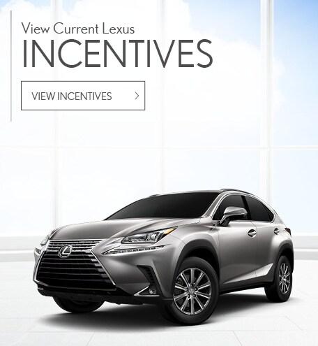 View Current Lexus Incentives
