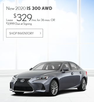 New 2020 IS 300 AWD