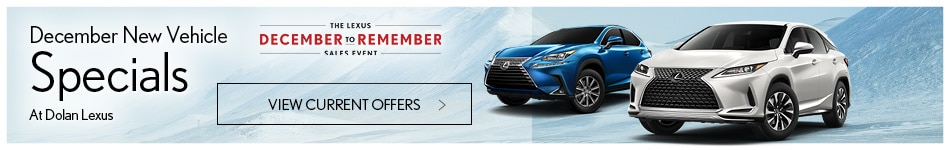 December New Vehicle Specials