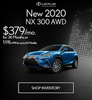 New 2020 NX 300 AWD