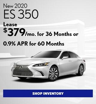 New 2020 ES 350