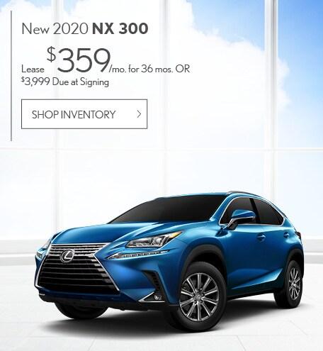 New 2020 NX 300