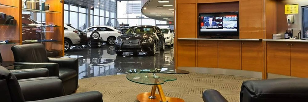 Lexus of Richmond Hill Service Centre - Lexus Guest Club Lounge