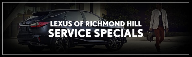 Lexus Service Specials Richmond Hill, Ontario