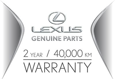 Lexus Parts Warranty
