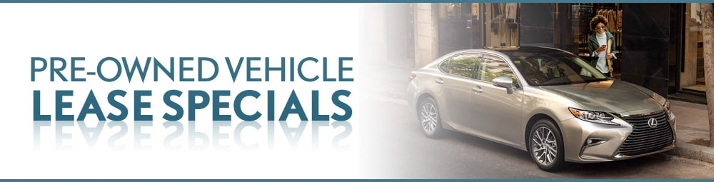Pre-Owned Vehicle Lease Specials