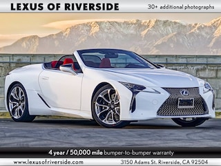 2021 LEXUS LC 500 Convertible Convertible For Sale in Riverside, CA