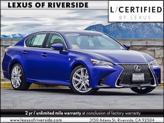 2017 LEXUS GS 350 F Sport Sedan For Sale in Riverside, CA