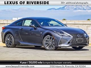 2021 LEXUS RC 350 F SPORT AWD Coupe For Sale in Riverside, CA
