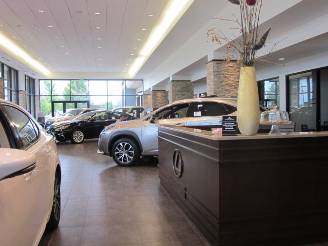 Lexus of Rockford showroom.JPG