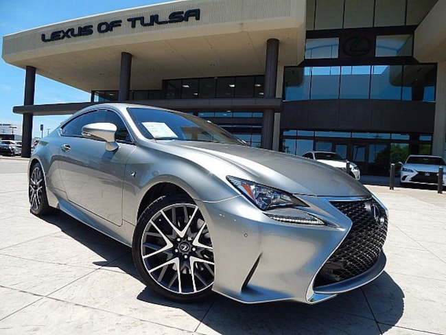 Certified Pre-Owned 2017 LEXUS RC Coupe for sale in Tulsa, OK
