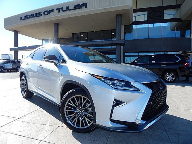 New 2019 LEXUS RX 350 F Sport 350 SUV for sale in Tulsa, OK