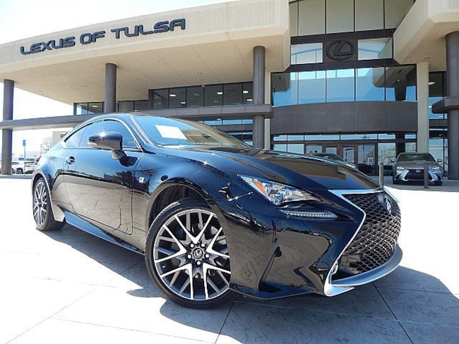 Certified Pre-Owned 2016 LEXUS RC Coupe for sale in Tulsa, OK