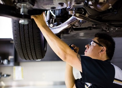 Alignment, Brake, or Suspension Service
