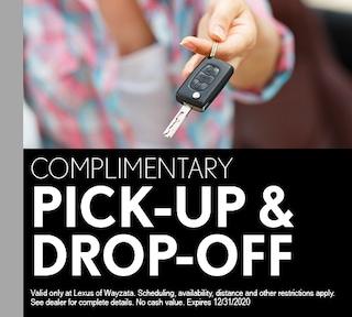 Comp Pick-up Drop-off