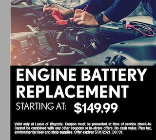 Engine Battery Replacement
