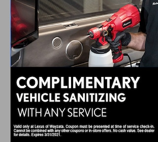 Complimentary Sanitizing