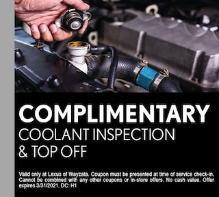 Complimentary Coolant Top Off