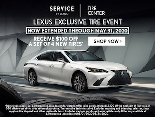 Lexus Exclusive Tire Event