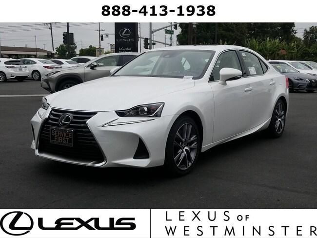 2019 LEXUS IS Sedan