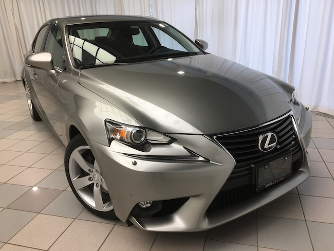 2015 LEXUS IS 250 AWD Luxury Navigation Pkg Sedan