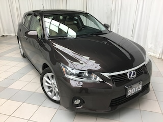 2013 LEXUS CT 200h Technology Package: Winter Tires, ECP  Hatchback