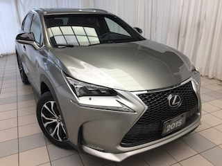 2015 LEXUS NX 200t F Sport Series 2 Package: 1 Owner. Fully Serviced  SUV