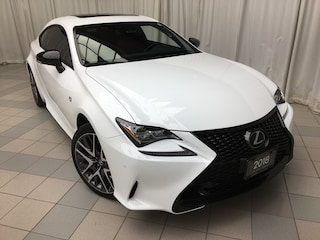 2018 LEXUS RC 350 F Sport Series 2 Package: 1 Owner, Tint Coupe