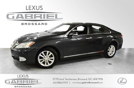 2011 LEXUS ES 350 NAVIGATION CUIR, TOIT OUVRANT, CAMERA, INSPECTION Sedan