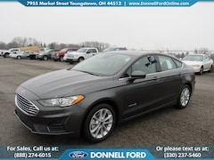 New 2019 Ford Fusion Hybrid SE Sedan Youngstown, Ohio