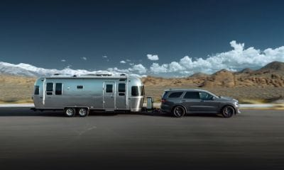 Dodge Durango towing an RV