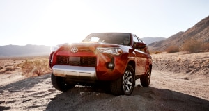 Toyota 4Runner off-road sand