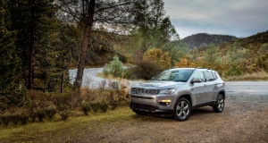 Jeep Compass forest road