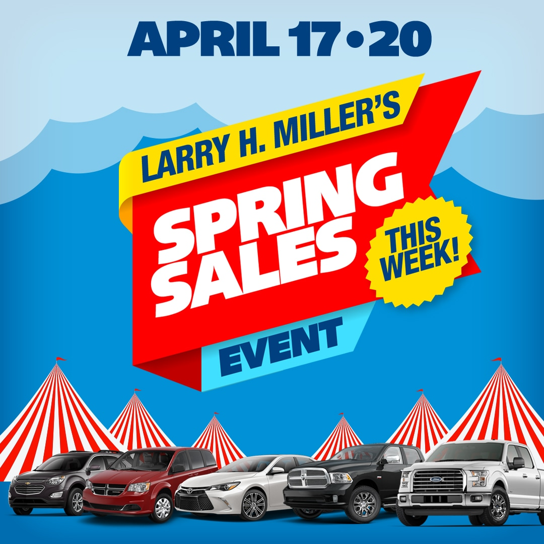 Larry H. Miller Spring Sales Event