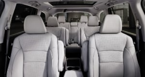 Honda Pilot interior seating