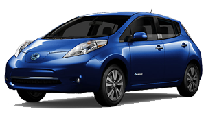 New Nissan Leaf corona ca