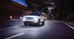 Jeep Compass night driving
