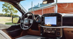 Ford F-150 infotainment