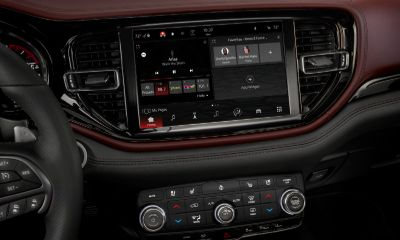 Dodge Durango touchscreen