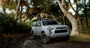 Toyota 4Runner off-road forest