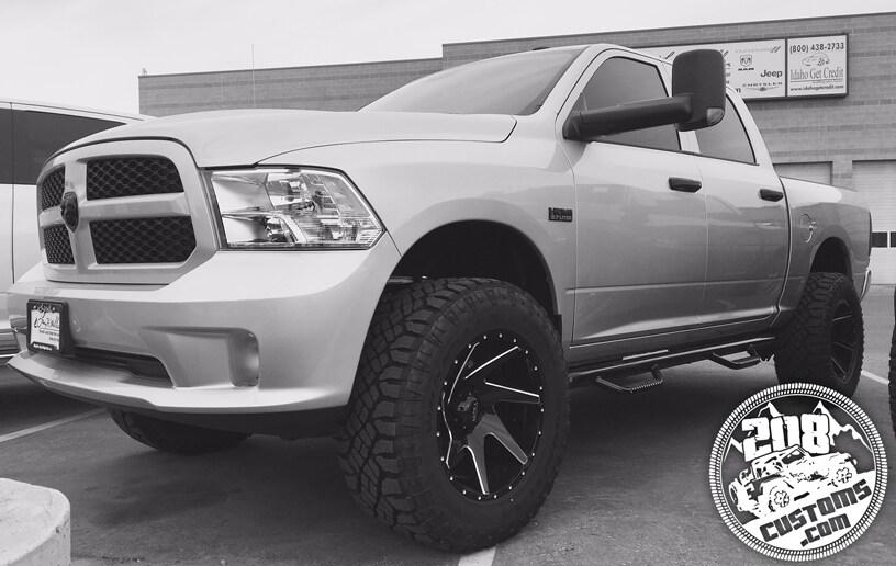 Larry Miller Dodge Boise >> 208 Customs   Ram Truck Lifts & Levels