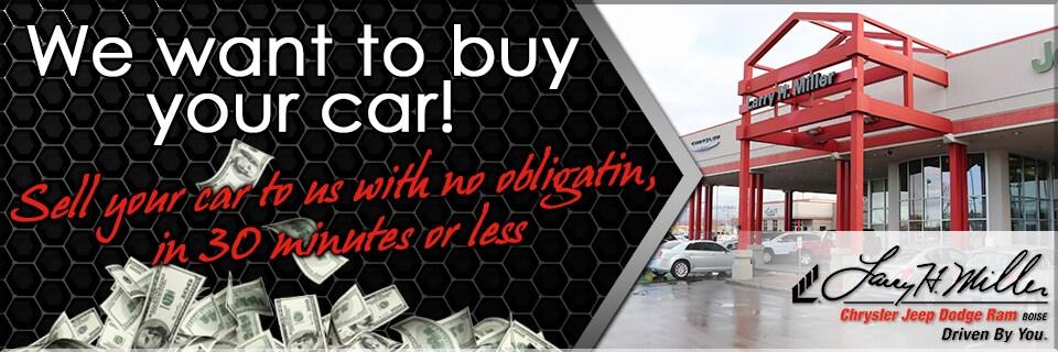 Larry Miller Dodge Boise >> Sell Your Car At Larry H Miller Chrysler Jeep Dodge Ram Boise