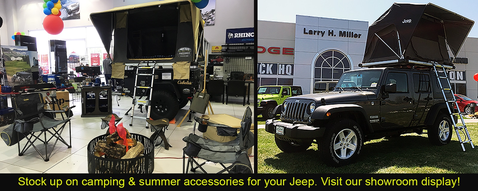 Jeep Camping Gear and Accessories