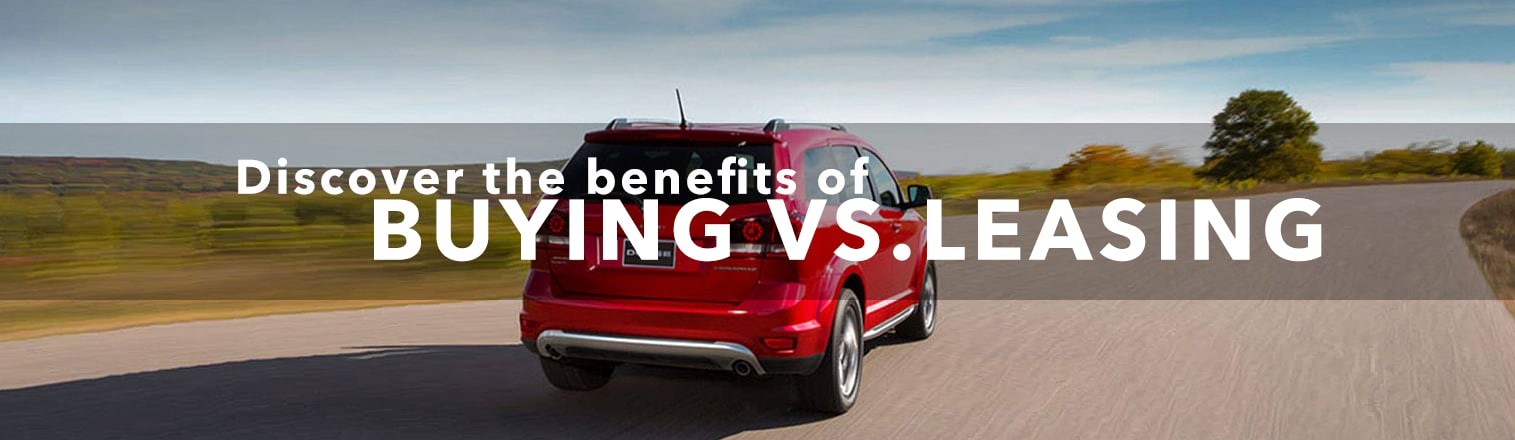 Learn more about the benefits of leasing and buying