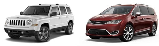 New Jeep Patriot, New Chrysler Pacifica in Ogden