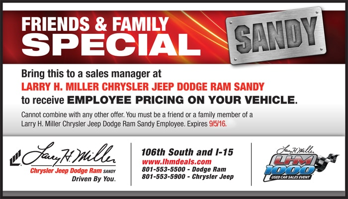 Contact. Larry H. Miller Chrysler Jeep ...