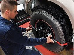 50% Savings on Alignment with Purchase of 4 Tires!